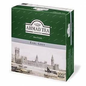 Чай Ahmad Tea Earl Grey 100 пак. (черный)